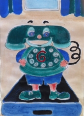 Sanja Čižić: ''Telefon'', ilustracija