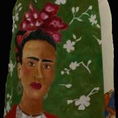 Tamara Gusar: ''Frida'', boje za tekstil na lanenom platnu