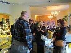 Otvorenje izložbe u lounge baru Witness