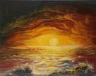 Jasna Dapas, Morski zalazak sunca