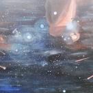 """Luka Koščak, """"Svemir I"""", akril na platnu"""