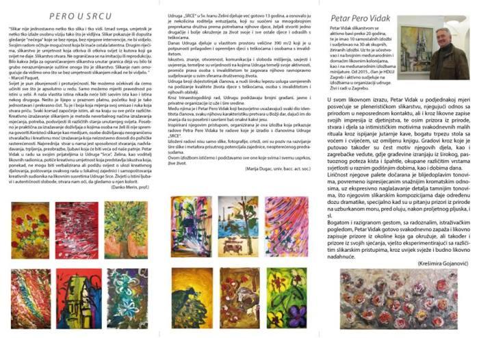 Petar Vidak, katalog 2