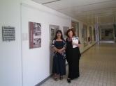 Sa izložbe ''Mitska dimenzija grada i urbane legende'' u Maloj galeriji Ekonomskog fakulteta u Ljubljani