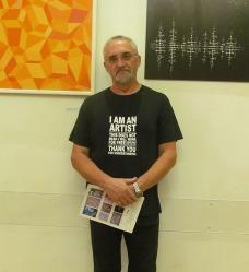 Robert Štimec, sa izložbe ''Nove perspektive 2018'' u Europskom domu Zagreb