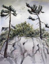 Jelena Martinović, ''Premužićeva staza'', akvarel