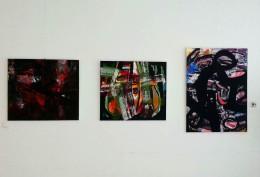 Mladen Žunjić u galeriji HEP-a u Zagrebu