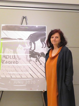 Slavica Zrakič, Galerija Ekonomskkog fakulteta Ljubljana
