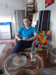 Luka Koščak, ''U ateljeu''