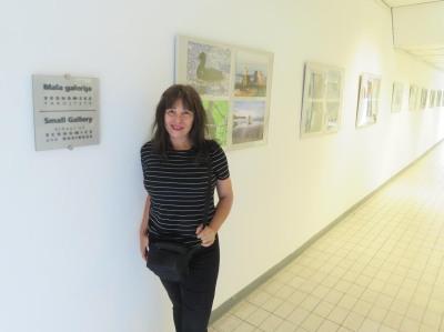 Krešimira Gojanović, Mala galerija Ekonomskkog fakulteta Ljubljana