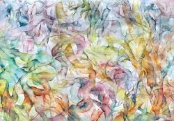 Morana Jugović, ''Inventura'', akvarel na papiru, 70x100 cm