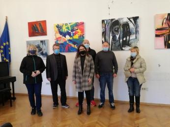 Izložba ''Ekspresije i apstrakcije 2021 - Balans'', Europski dom Zagreb, 2021.